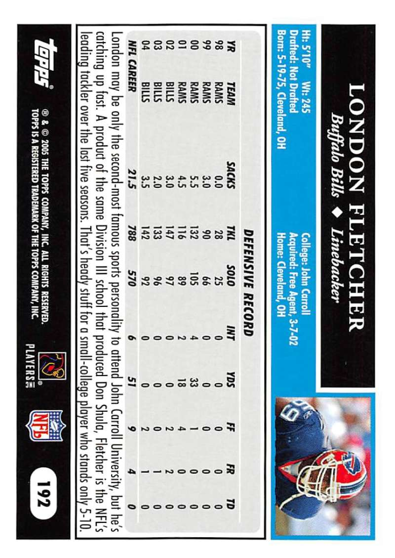 2005-Topps-NFL-Football-Cards-Pick-From-List-1-220 thumbnail 331
