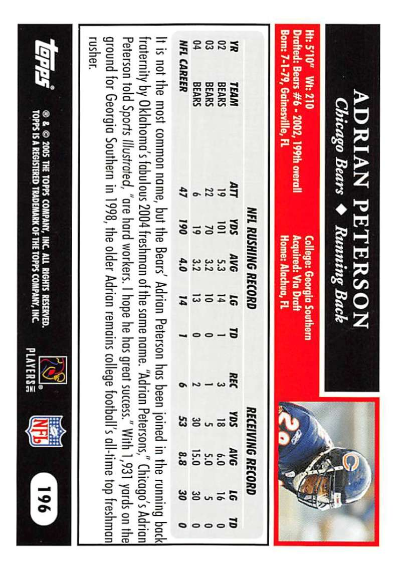 2005-Topps-NFL-Football-Cards-Pick-From-List-1-220 thumbnail 339