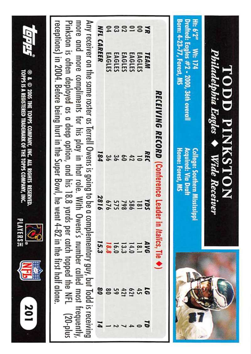 2005-Topps-NFL-Football-Cards-Pick-From-List-1-220 thumbnail 347