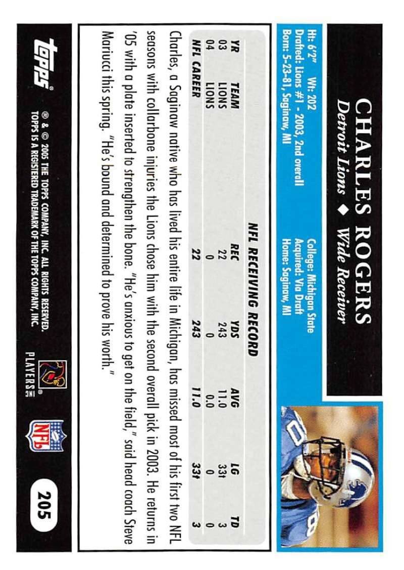 2005-Topps-NFL-Football-Cards-Pick-From-List-1-220 thumbnail 353
