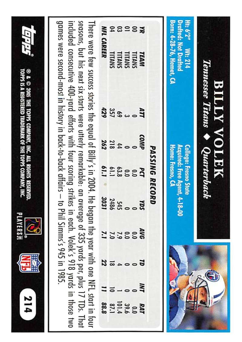 2005-Topps-NFL-Football-Cards-Pick-From-List-1-220 thumbnail 369