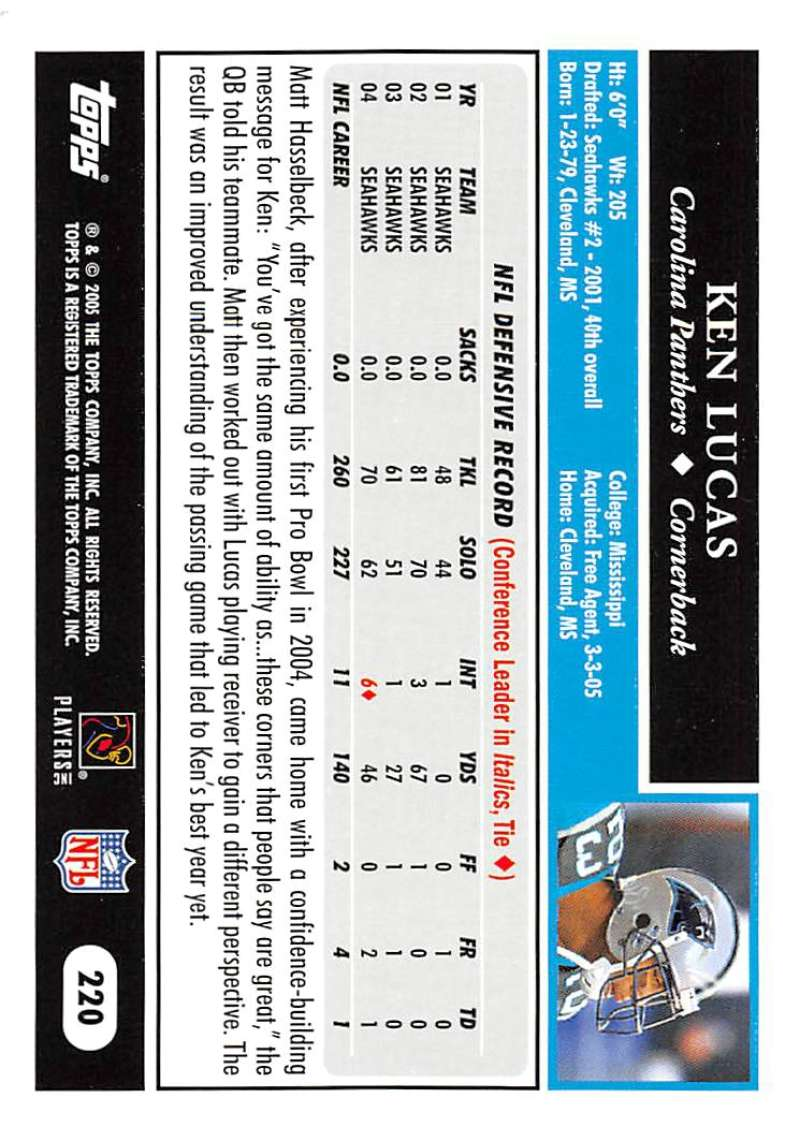 2005-Topps-NFL-Football-Cards-Pick-From-List-1-220 thumbnail 381