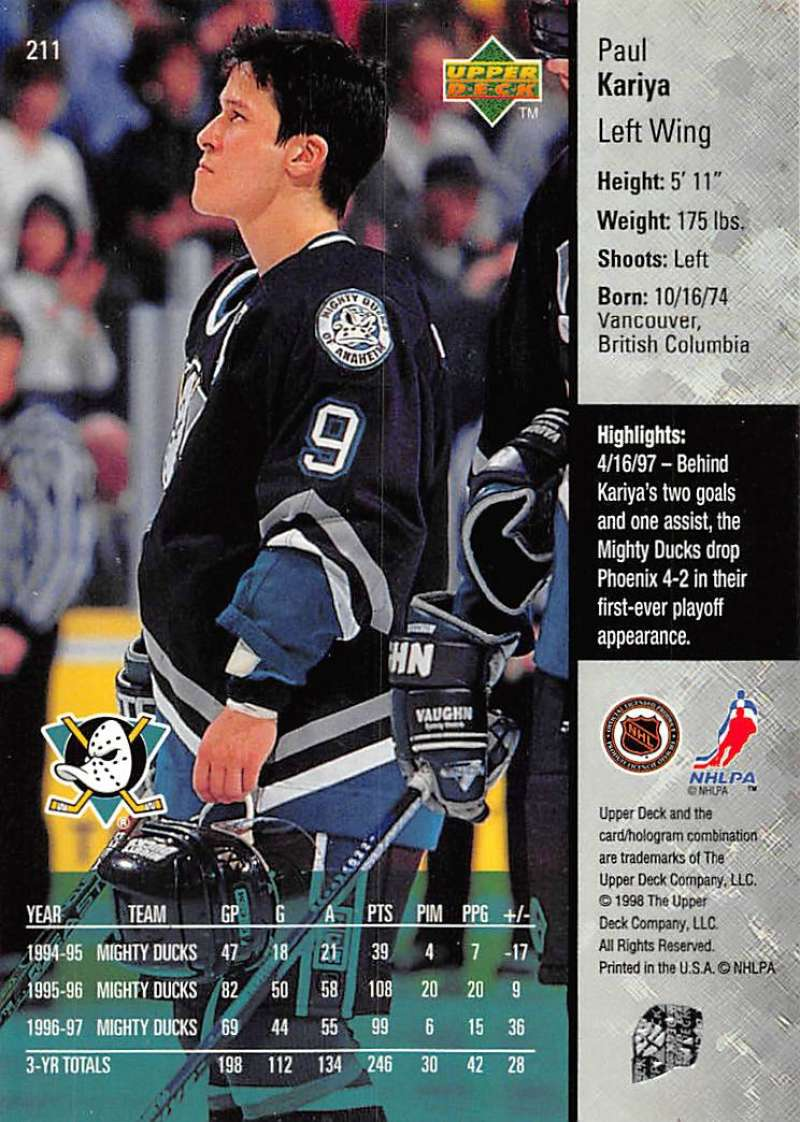 1997-98-Upper-Deck-Hockey-Card-Series-Two-Pick-From-List-211-420 thumbnail 3