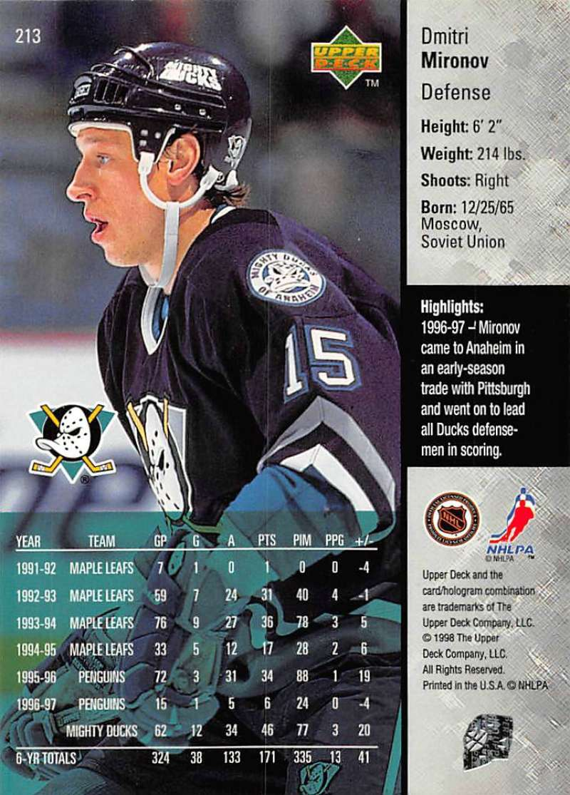 1997-98-Upper-Deck-Hockey-Card-Series-Two-Pick-From-List-211-420 thumbnail 5