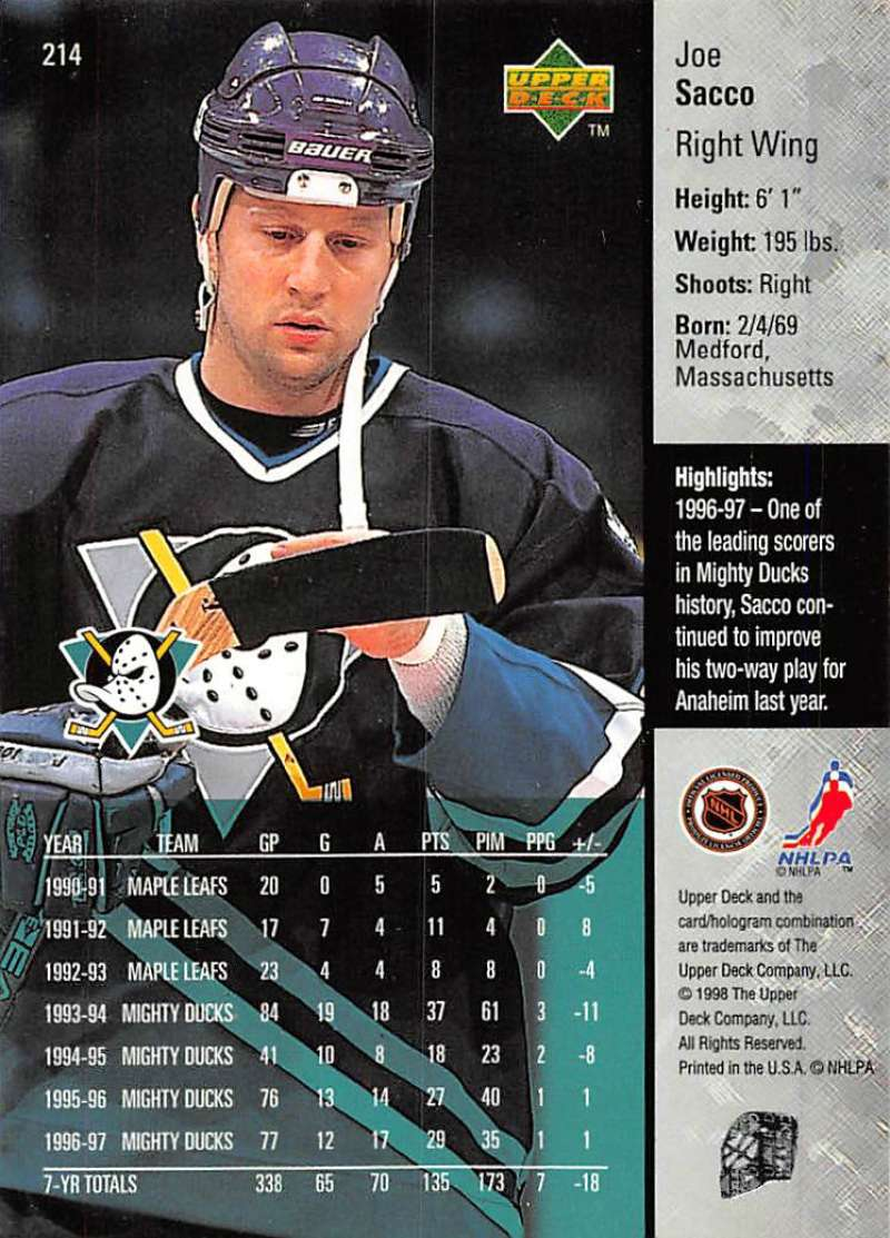 1997-98-Upper-Deck-Hockey-Card-Series-Two-Pick-From-List-211-420 thumbnail 7