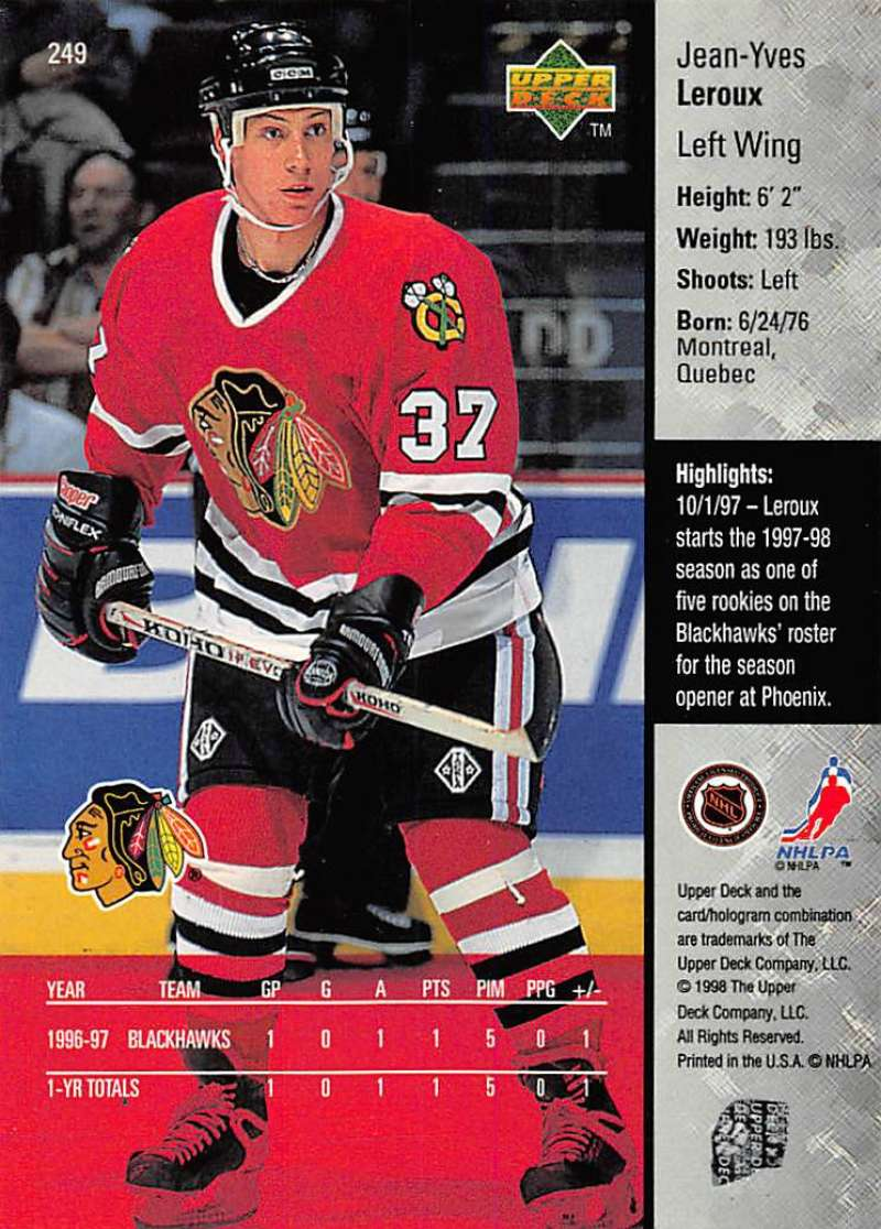 1997-98-Upper-Deck-Hockey-Card-Series-Two-Pick-From-List-211-420 thumbnail 49