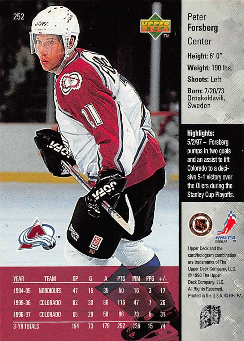 1997-98-Upper-Deck-Hockey-Card-Series-Two-Pick-From-List-211-420 thumbnail 53
