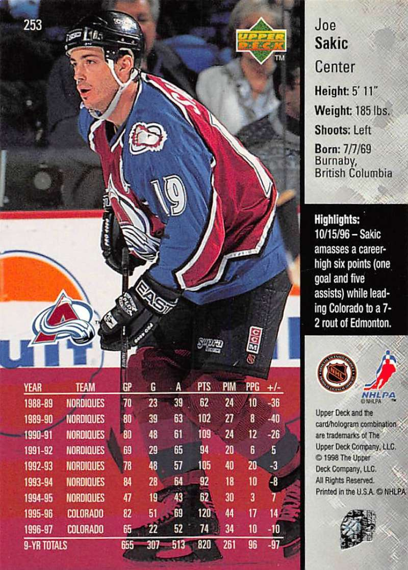 1997-98-Upper-Deck-Hockey-Card-Series-Two-Pick-From-List-211-420 thumbnail 55