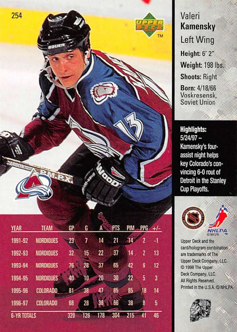 1997-98-Upper-Deck-Hockey-Card-Series-Two-Pick-From-List-211-420 thumbnail 57