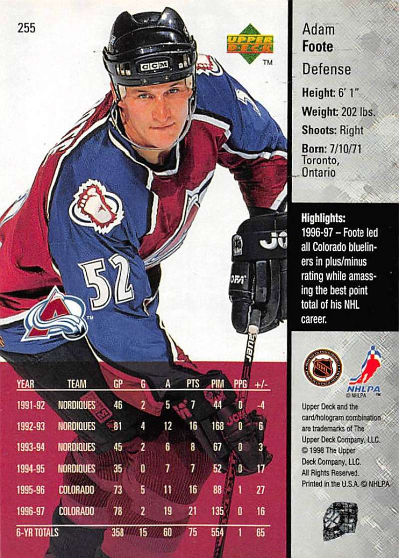 1997-98-Upper-Deck-Hockey-Card-Series-Two-Pick-From-List-211-420 thumbnail 59