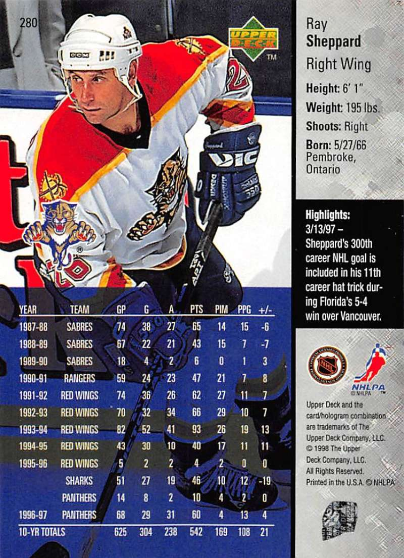 1997-98-Upper-Deck-Hockey-Card-Series-Two-Pick-From-List-211-420 thumbnail 93