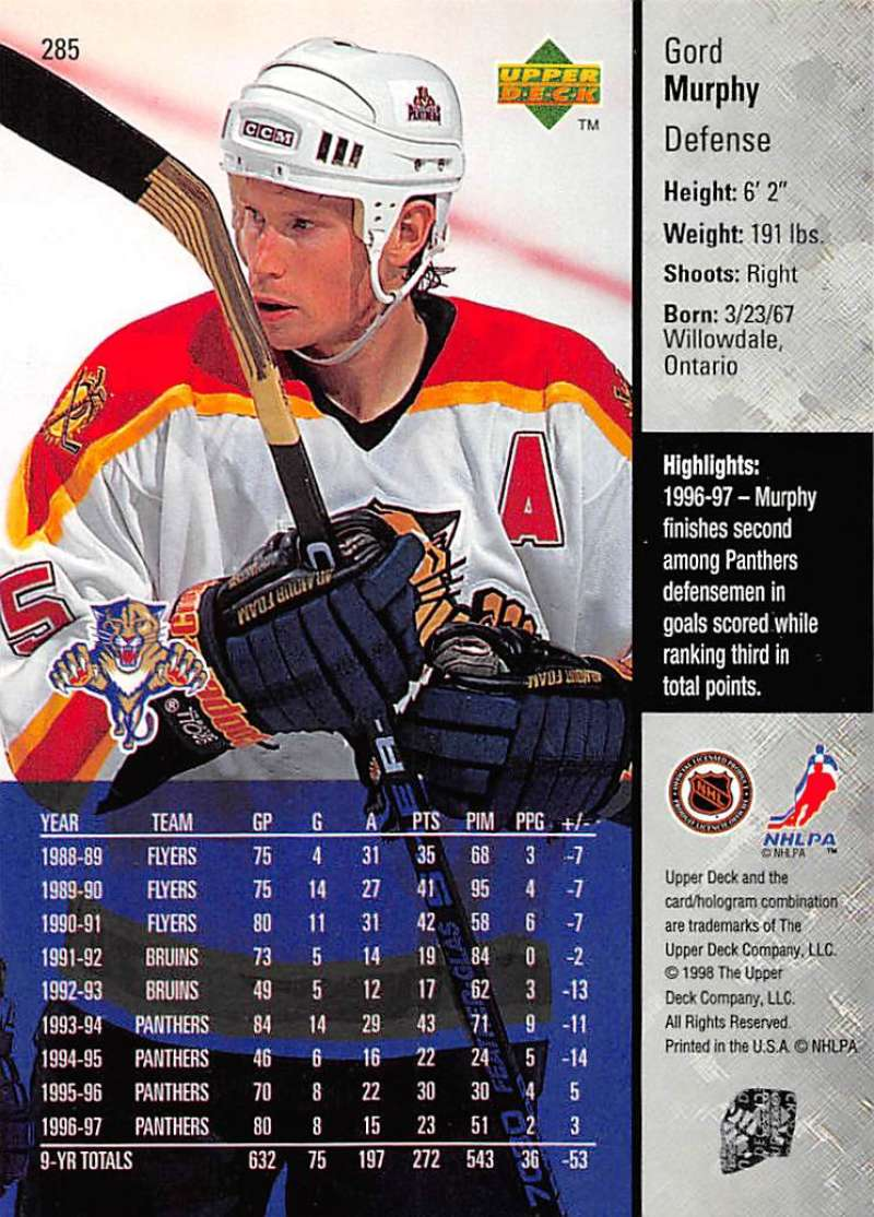 1997-98-Upper-Deck-Hockey-Card-Series-Two-Pick-From-List-211-420 thumbnail 101