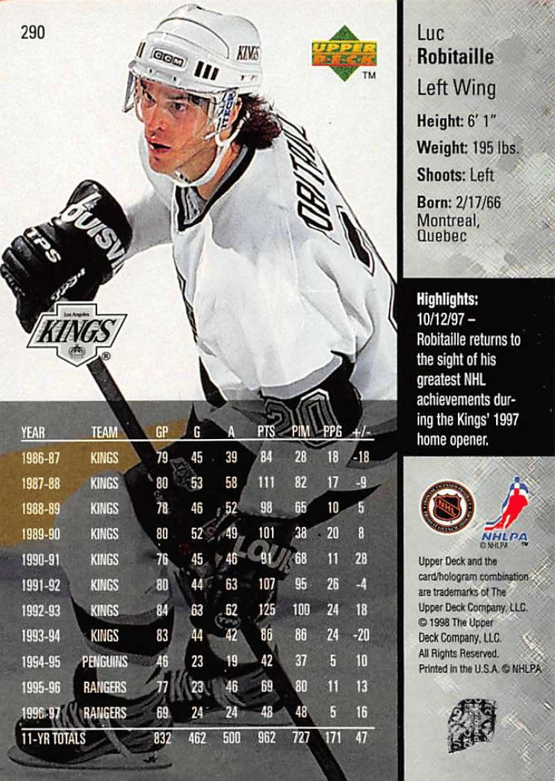 1997-98-Upper-Deck-Hockey-Card-Series-Two-Pick-From-List-211-420 thumbnail 107