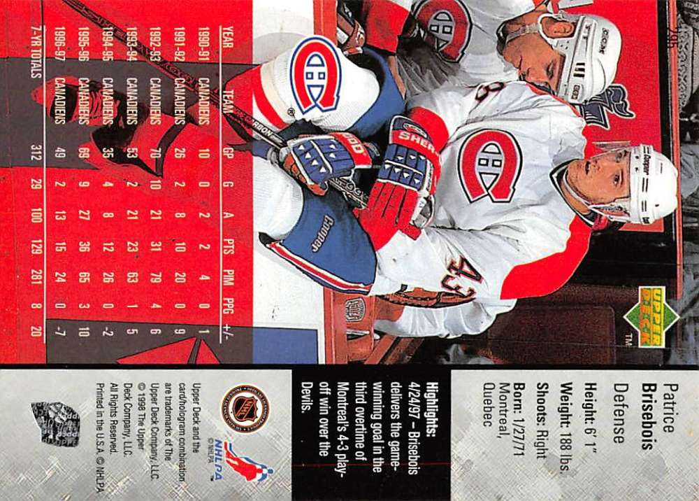 1997-98-Upper-Deck-Hockey-Card-Series-Two-Pick-From-List-211-420 thumbnail 111
