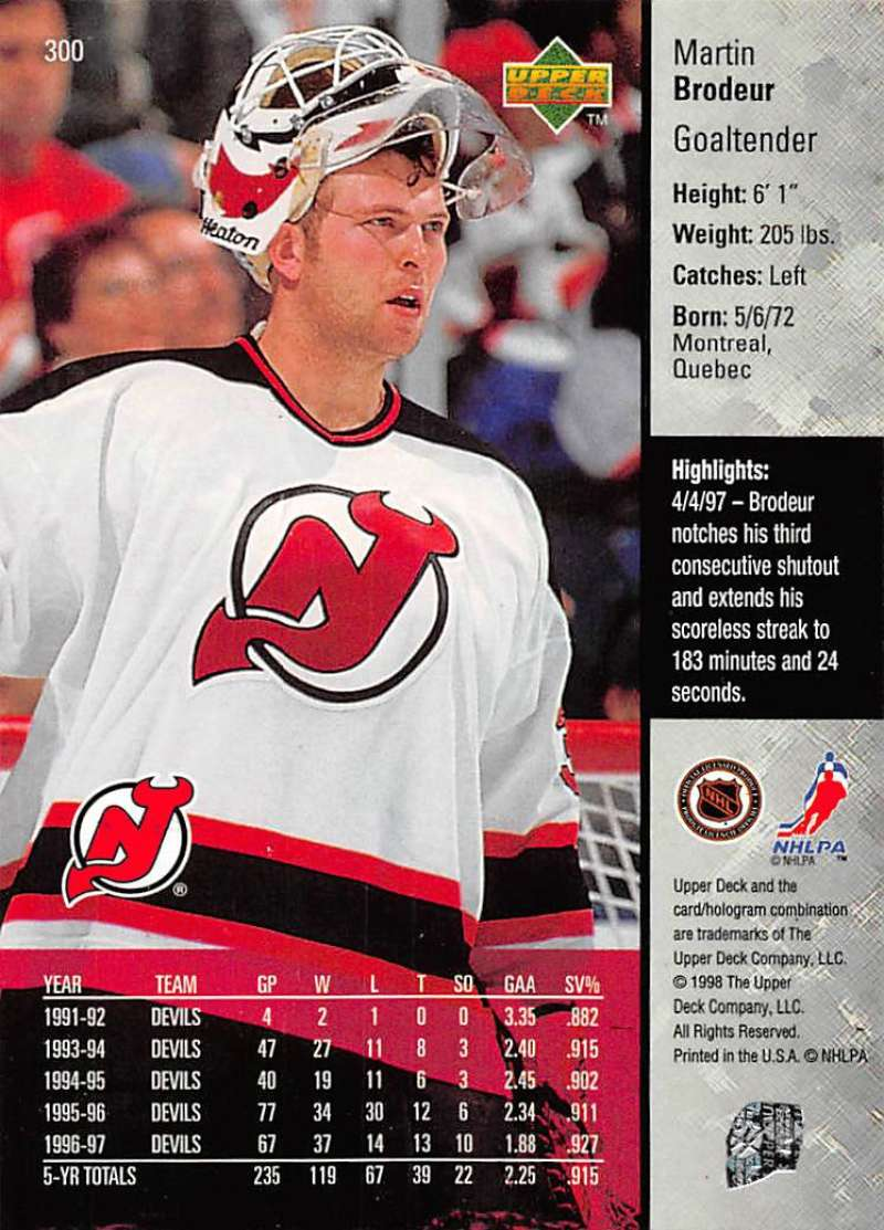 1997-98-Upper-Deck-Hockey-Card-Series-Two-Pick-From-List-211-420 thumbnail 119