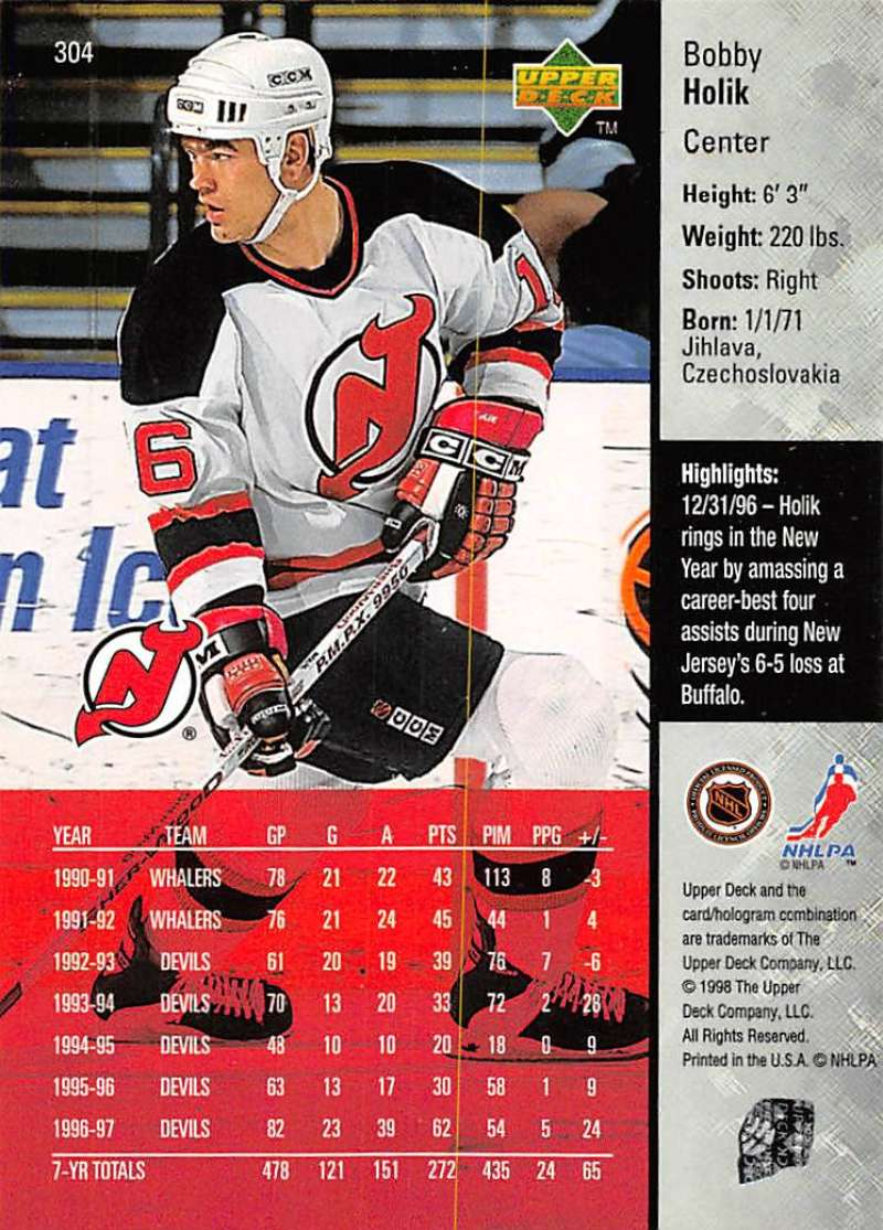1997-98-Upper-Deck-Hockey-Card-Series-Two-Pick-From-List-211-420 thumbnail 125