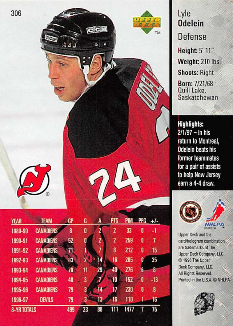 1997-98-Upper-Deck-Hockey-Card-Series-Two-Pick-From-List-211-420 thumbnail 129