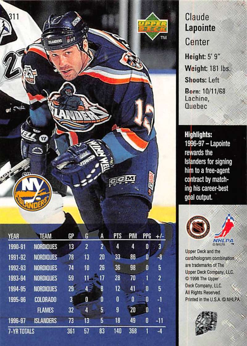 1997-98-Upper-Deck-Hockey-Card-Series-Two-Pick-From-List-211-420 thumbnail 139