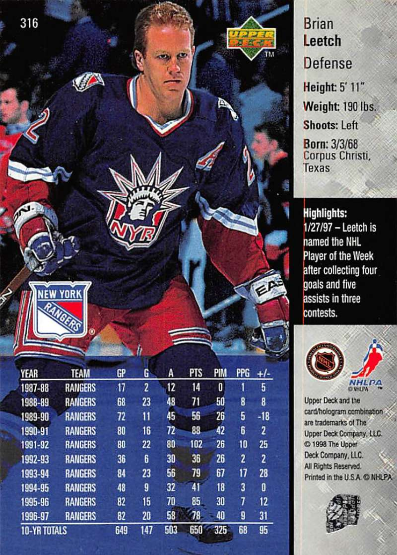 1997-98-Upper-Deck-Hockey-Card-Series-Two-Pick-From-List-211-420 thumbnail 147