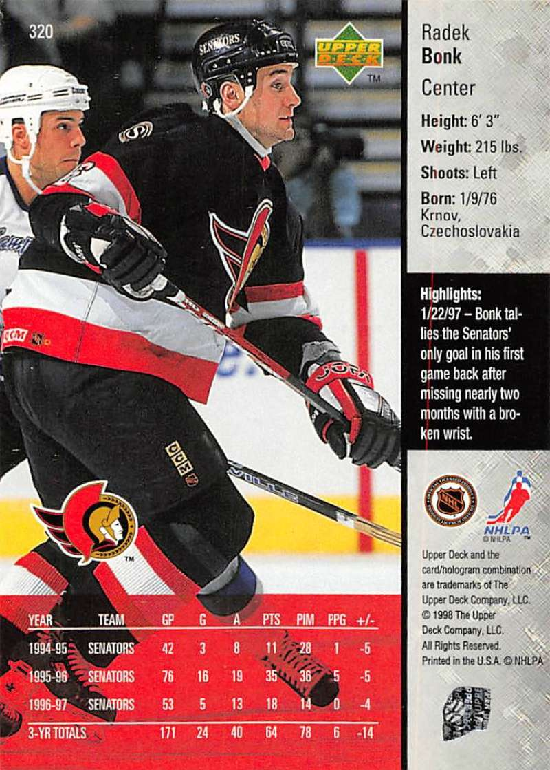 1997-98-Upper-Deck-Hockey-Card-Series-Two-Pick-From-List-211-420 thumbnail 155