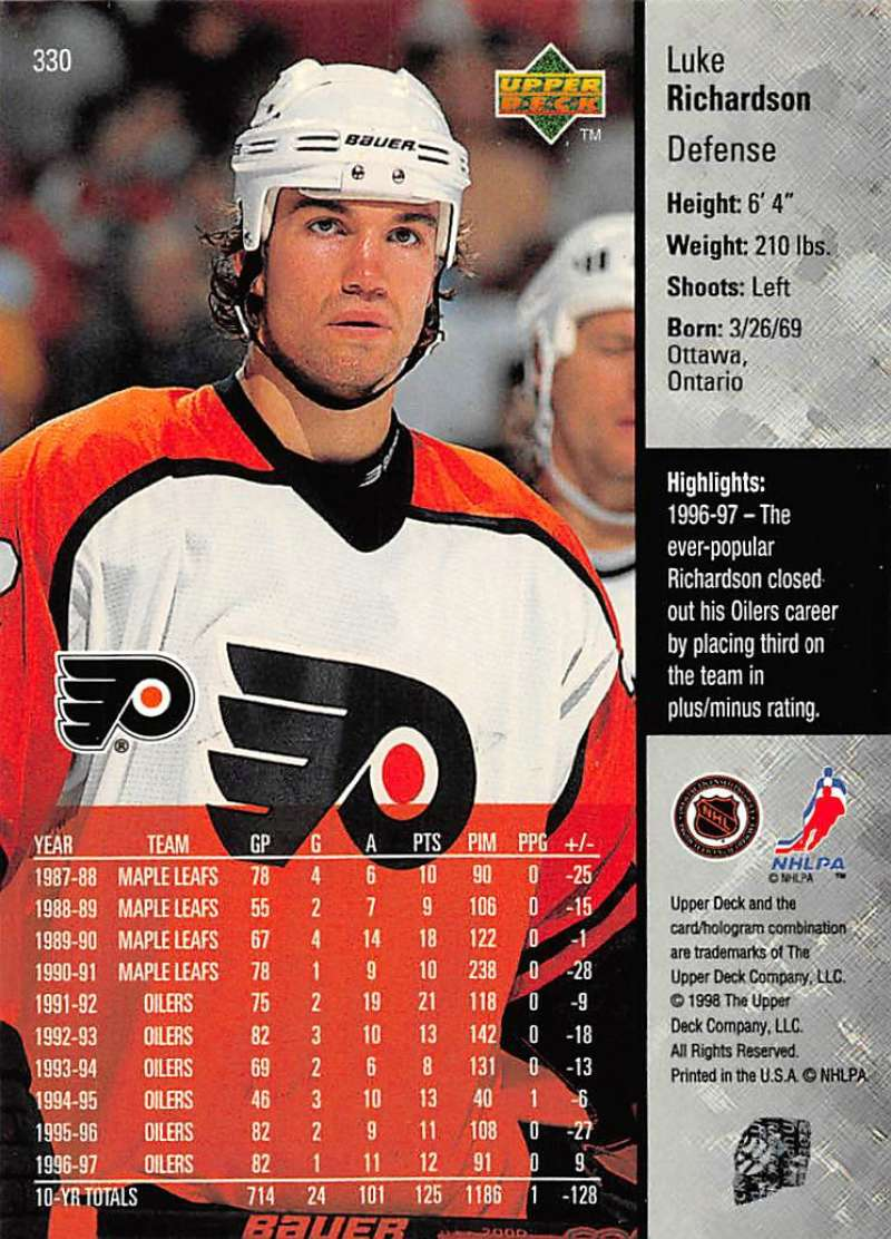 1997-98-Upper-Deck-Hockey-Card-Series-Two-Pick-From-List-211-420 thumbnail 169