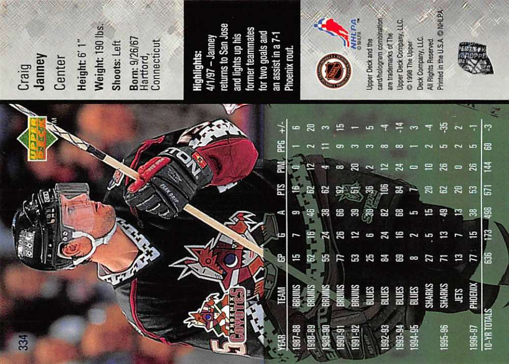 1997-98-Upper-Deck-Hockey-Card-Series-Two-Pick-From-List-211-420 thumbnail 177