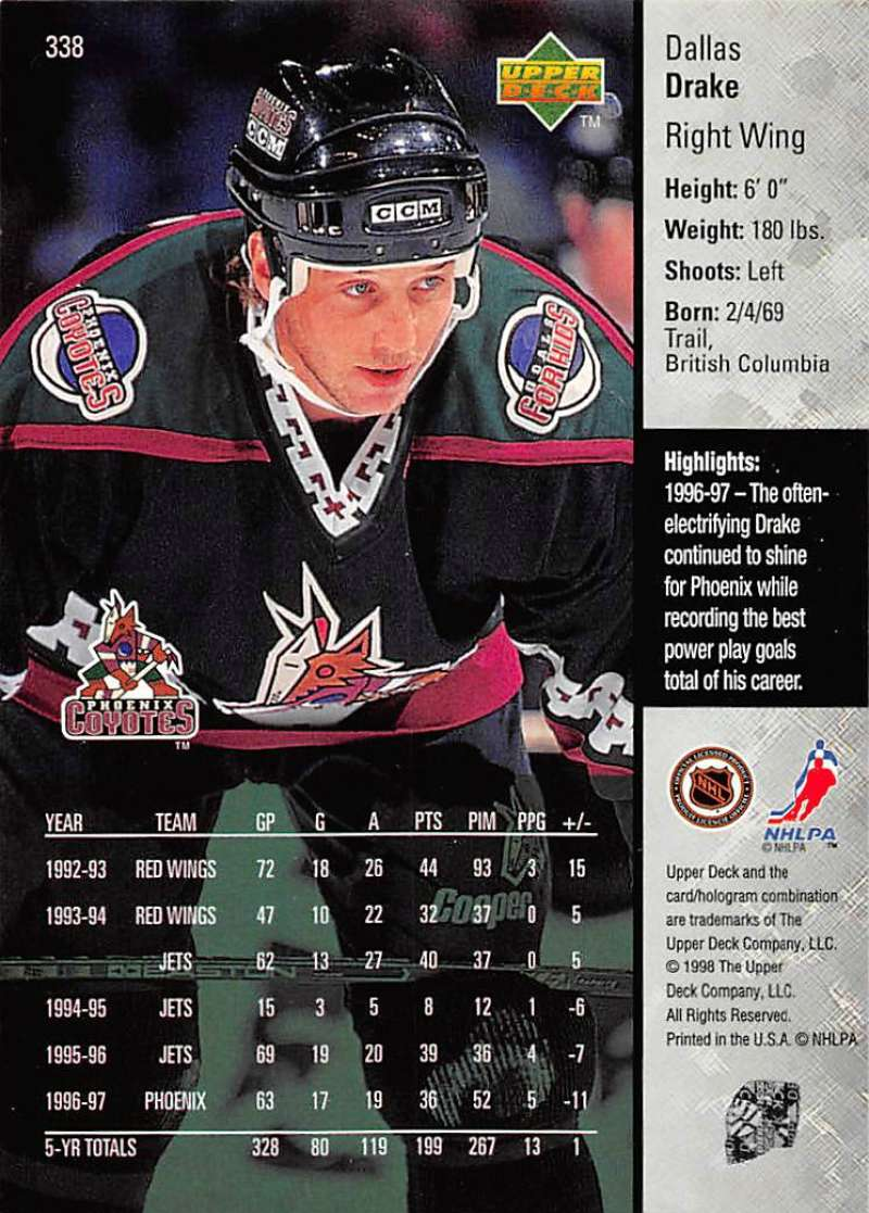 1997-98-Upper-Deck-Hockey-Card-Series-Two-Pick-From-List-211-420 thumbnail 181