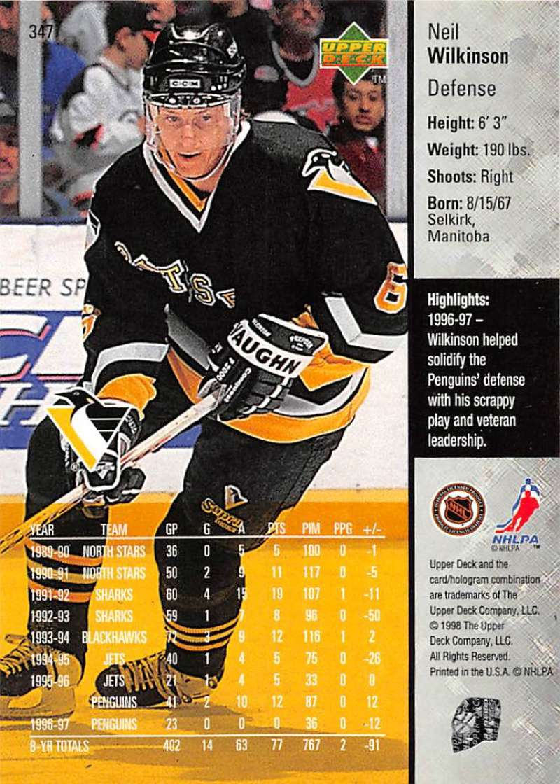 1997-98-Upper-Deck-Hockey-Card-Series-Two-Pick-From-List-211-420 thumbnail 193