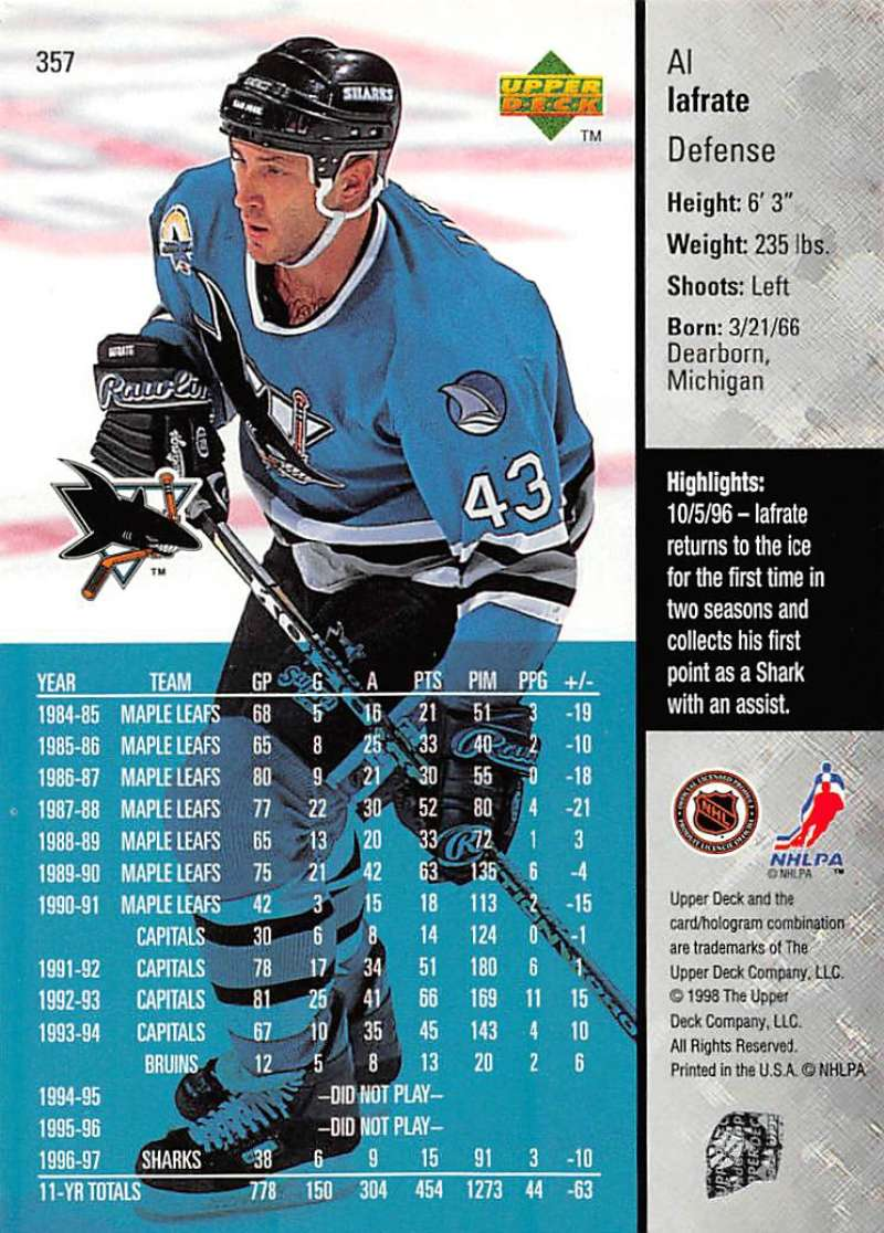 1997-98-Upper-Deck-Hockey-Card-Series-Two-Pick-From-List-211-420 thumbnail 209