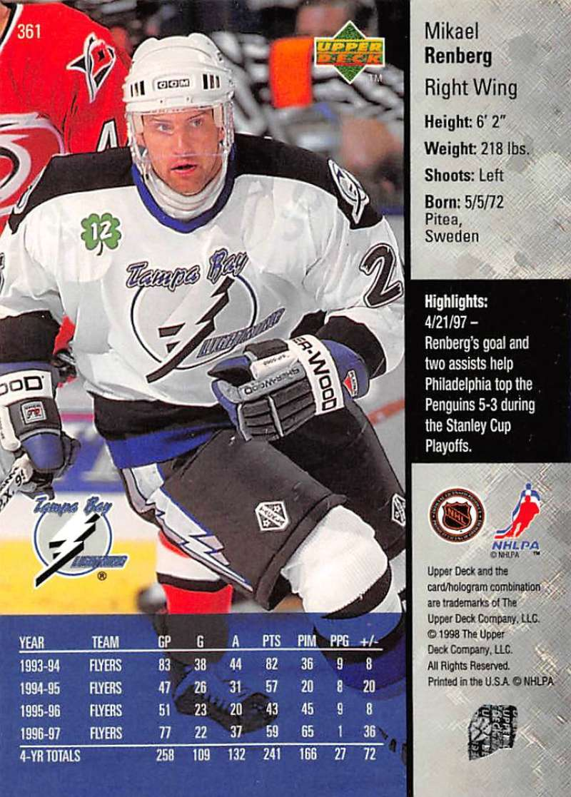 1997-98-Upper-Deck-Hockey-Card-Series-Two-Pick-From-List-211-420 thumbnail 215