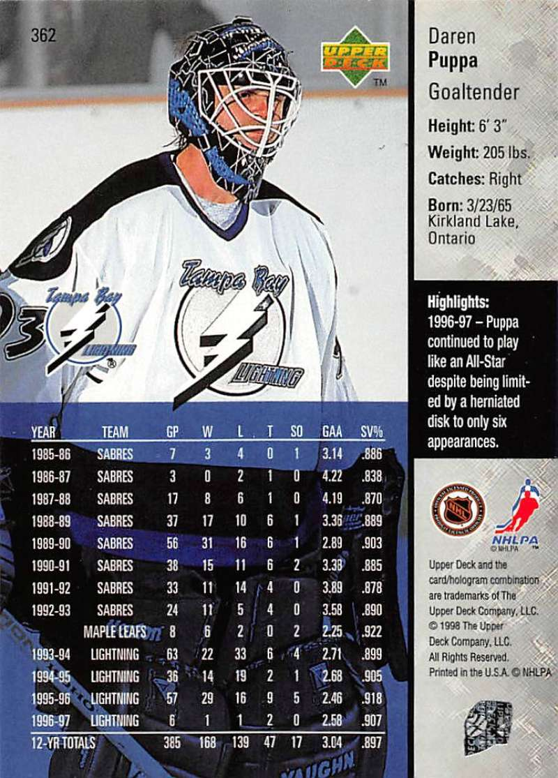 1997-98-Upper-Deck-Hockey-Card-Series-Two-Pick-From-List-211-420 thumbnail 217