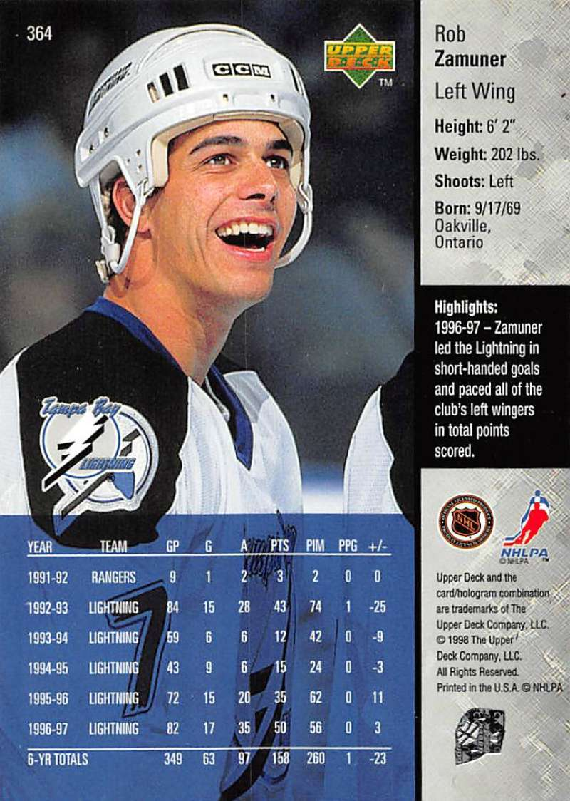 1997-98-Upper-Deck-Hockey-Card-Series-Two-Pick-From-List-211-420 thumbnail 221