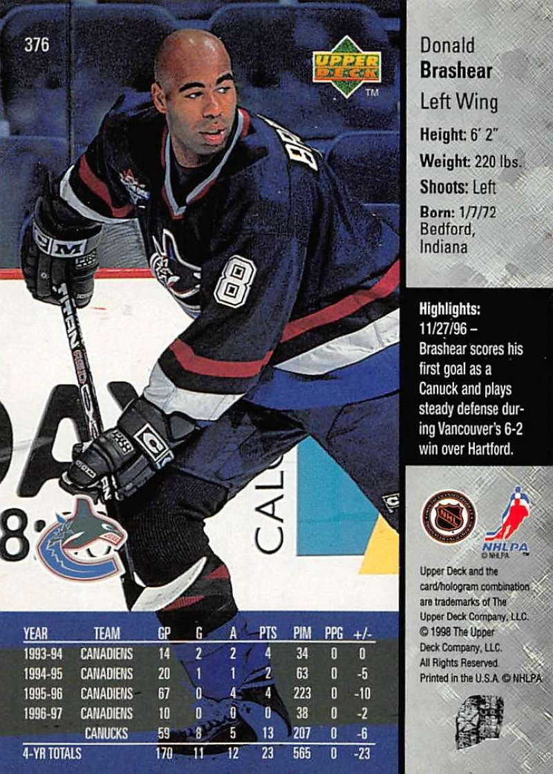 1997-98-Upper-Deck-Hockey-Card-Series-Two-Pick-From-List-211-420 thumbnail 227