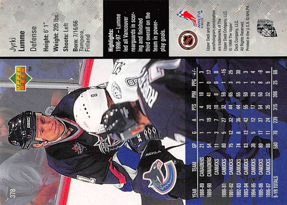 1997-98-Upper-Deck-Hockey-Card-Series-Two-Pick-From-List-211-420 thumbnail 231
