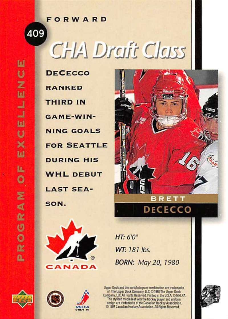 1997-98-Upper-Deck-Hockey-Card-Series-Two-Pick-From-List-211-420 thumbnail 241