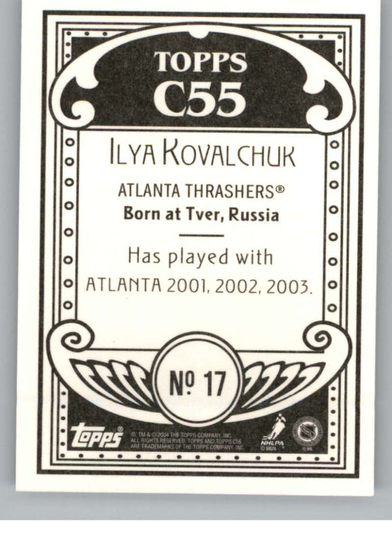 2003-04-Topps-C55-NHL-Hockey-Cards-Pick-From-List-Includes-Rookies-and-Variants thumbnail 39