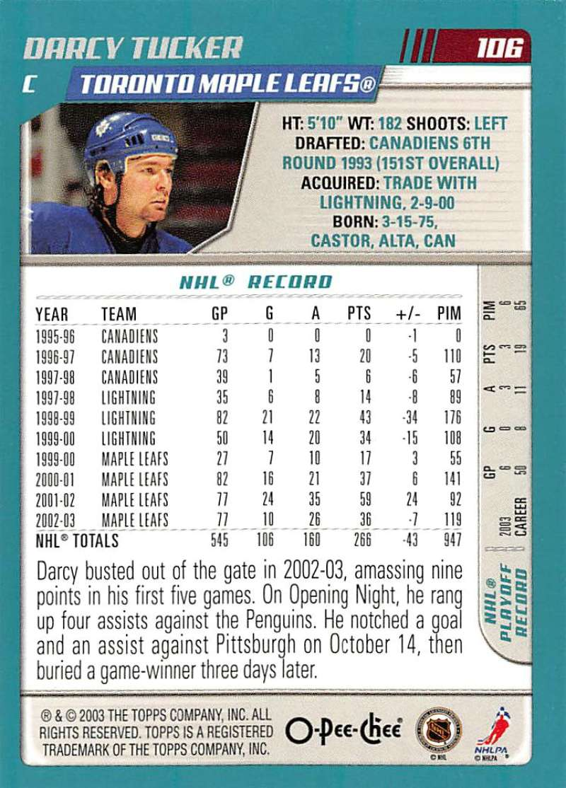 2003-04-O-Pee-Chee-OPC-Hockey-Cards-Pick-From-List-1-200 thumbnail 209