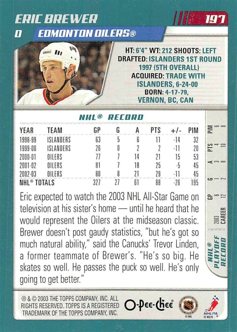 2003-04-O-Pee-Chee-OPC-Hockey-Cards-Pick-From-List-1-200 thumbnail 389