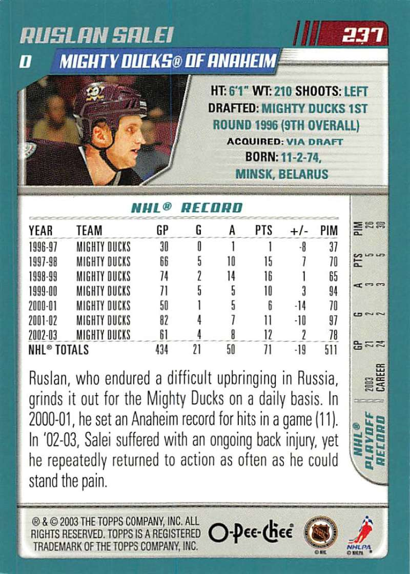 2003-04-O-Pee-Chee-OPC-Hockey-Cards-Pick-From-List-201-340-Includes-Rookies thumbnail 75