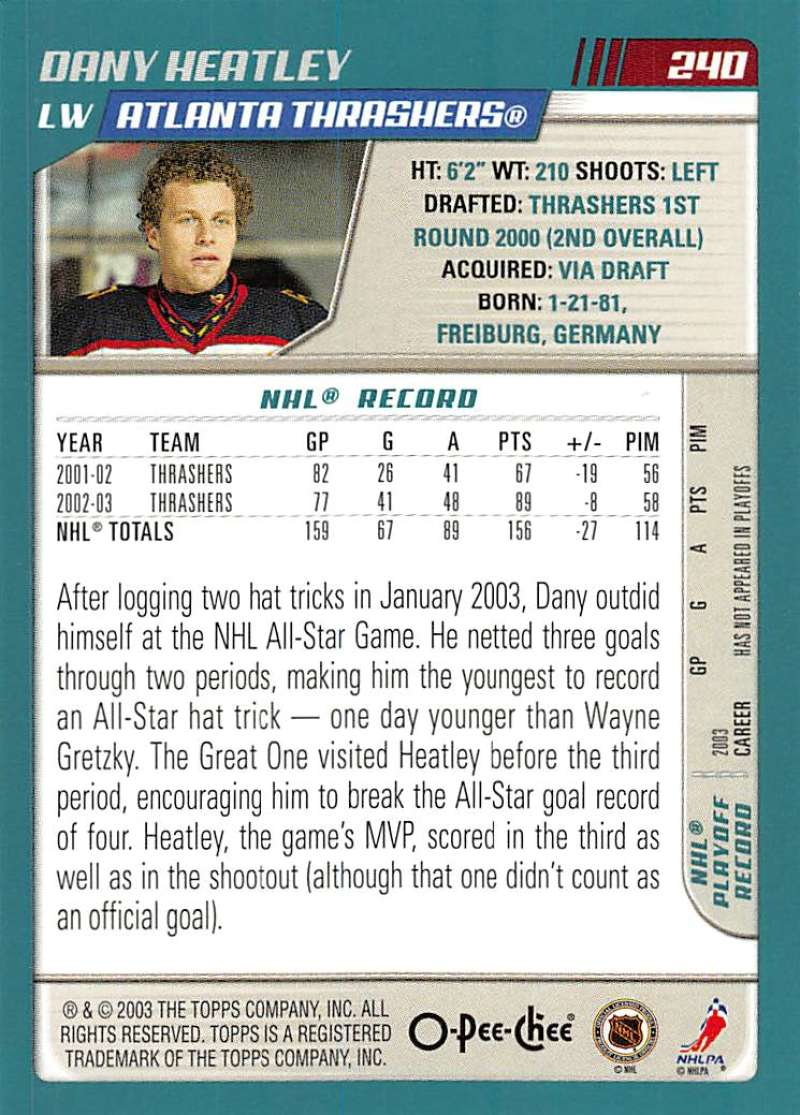 2003-04-O-Pee-Chee-OPC-Hockey-Cards-Pick-From-List-201-340-Includes-Rookies thumbnail 81