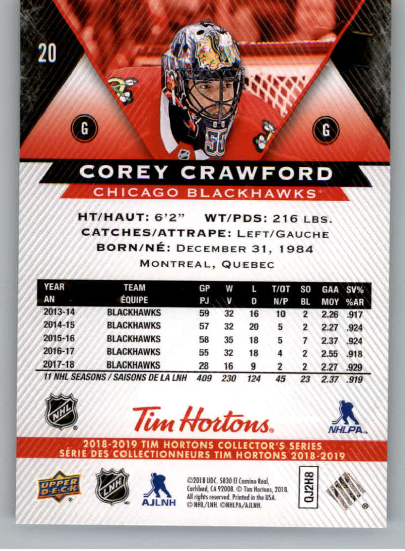 2018-19-Upper-Deck-Tim-Hortons-NHL-Hockey-Cards-Base-and-Inserts-Pick-From-List miniature 11