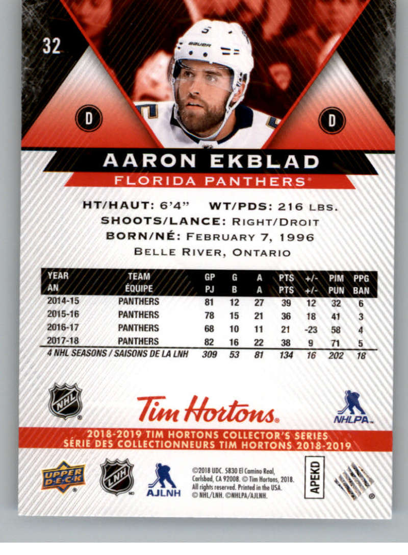 2018-19-Upper-Deck-Tim-Hortons-NHL-Hockey-Cards-Base-and-Inserts-Pick-From-List miniature 19