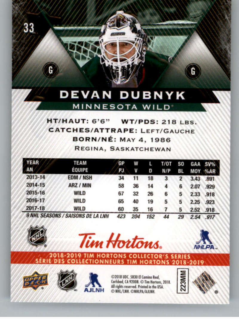 2018-19-Upper-Deck-Tim-Hortons-NHL-Hockey-Cards-Base-and-Inserts-Pick-From-List miniature 21