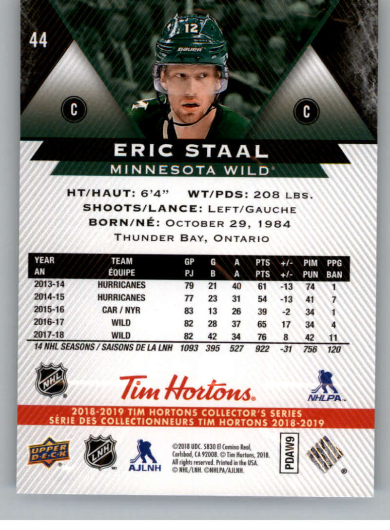 2018-19-Upper-Deck-Tim-Hortons-NHL-Hockey-Cards-Base-and-Inserts-Pick-From-List miniature 29