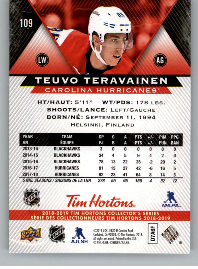 2018-19-Upper-Deck-Tim-Hortons-NHL-Hockey-Cards-Base-and-Inserts-Pick-From-List miniature 69