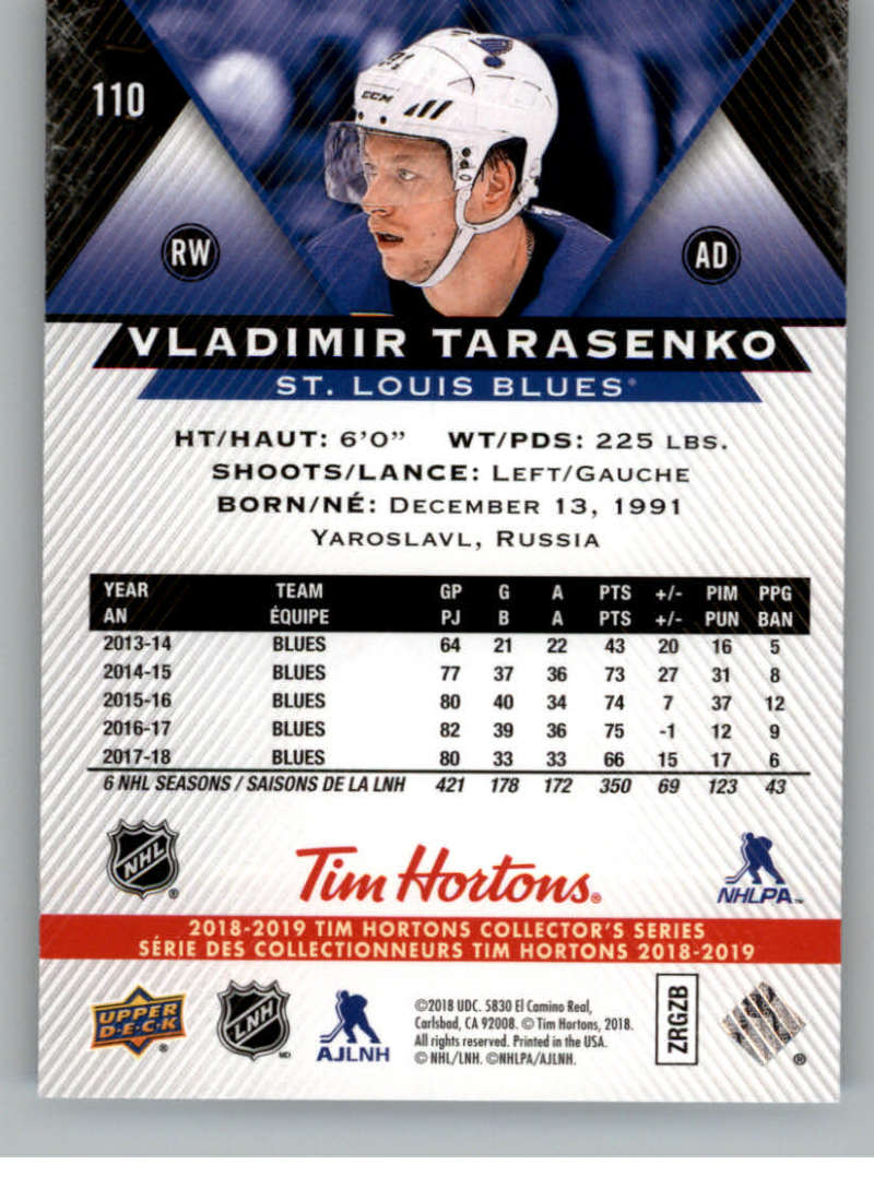 2018-19-Upper-Deck-Tim-Hortons-NHL-Hockey-Cards-Base-and-Inserts-Pick-From-List miniature 71