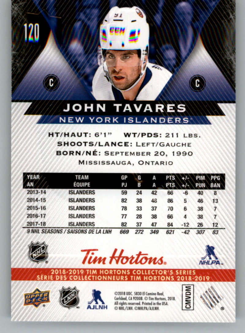 2018-19-Upper-Deck-Tim-Hortons-NHL-Hockey-Cards-Base-and-Inserts-Pick-From-List miniature 75