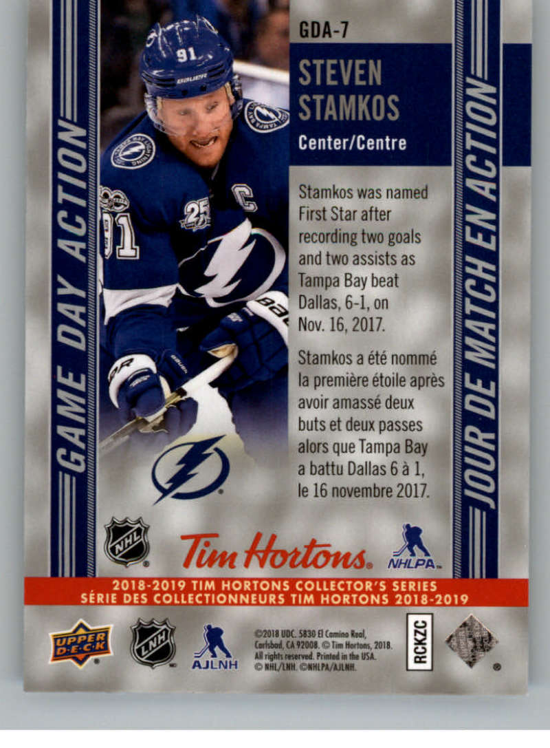 2018-19-Upper-Deck-Tim-Hortons-NHL-Hockey-Cards-Base-and-Inserts-Pick-From-List miniature 85