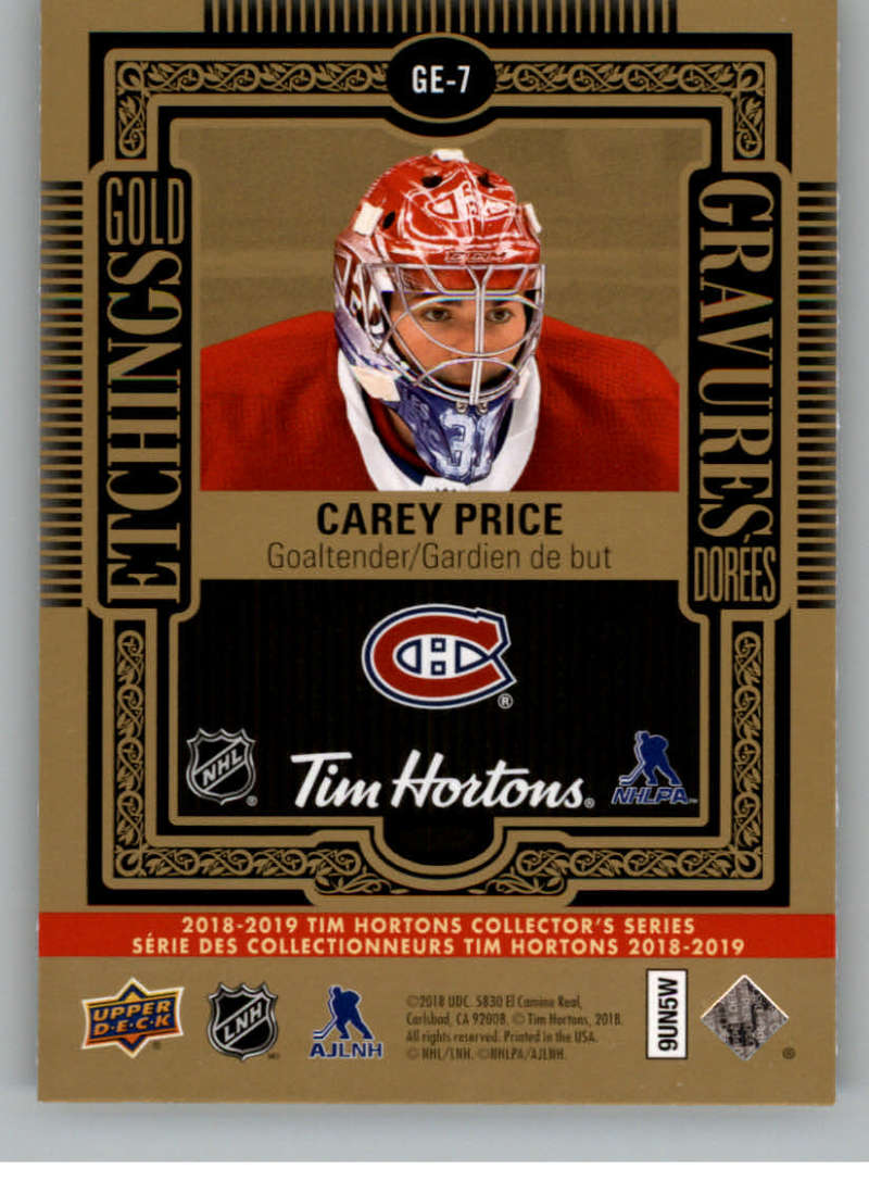 2018-19-Upper-Deck-Tim-Hortons-NHL-Hockey-Cards-Base-and-Inserts-Pick-From-List thumbnail 119