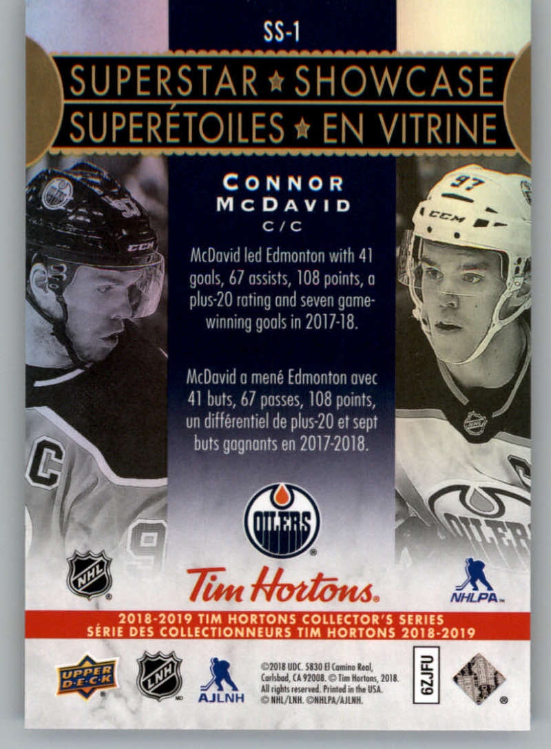 2018-19-Upper-Deck-Tim-Hortons-NHL-Hockey-Cards-Base-and-Inserts-Pick-From-List thumbnail 131